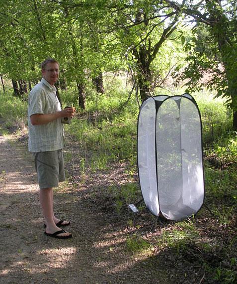 monarch fieldwork tent